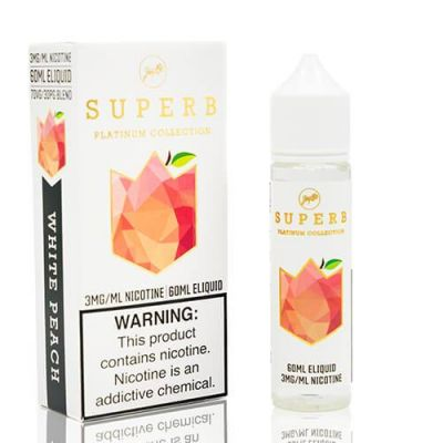 White Peach – Platinum Collection – Superb – 60mL