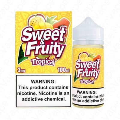 Tropical Sweet & Fruity 100mL
