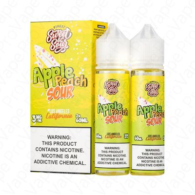 Apple Peach Sour Finest S&S 2x60mL