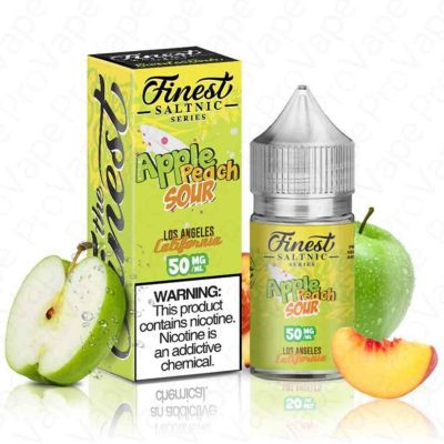 Apple Peach Sour – Finest SaltNic – 30mL