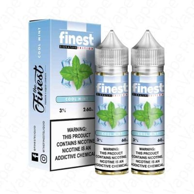Cool Mint – The Finest E-Liquid – 60mL x 2