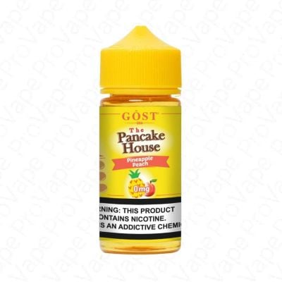 PINEAPPLE PEACH - THE PANCAKE HOUSE - 100ML-0mg