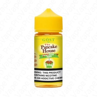 CARAMELIZED APPLE - THE PANCAKE HOUSE - 100ML-0mg