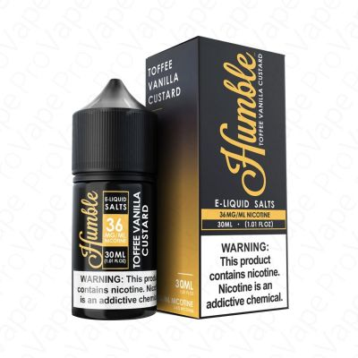 Toffee Vanilla Custard Salt Humble 30mL