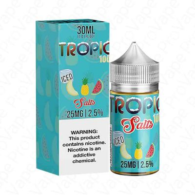 Tropic 100 Iced Salt Tailored 30mL
