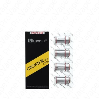 UWELL Crown III (3) Replacement Coils 4PCS
