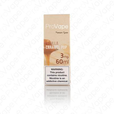 ProVape Premium e-Liquid - Vanilla Caramel Pop