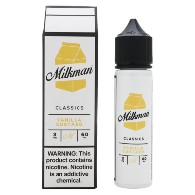 Vanilla Custard – The Milkman Classics – 60mL
