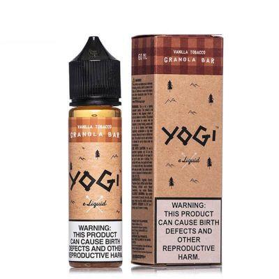 Vanilla Tobacco Granola Bar Yogi 60mL-0mg
