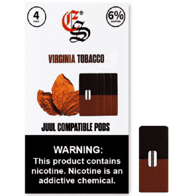 Virginia Tobacco JUUL Compatible Pods 6% 4PCS