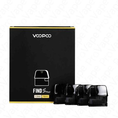 VOOPOO - FIND S TRIO - REPLACEMENT POD - 4PCS-1.8ml