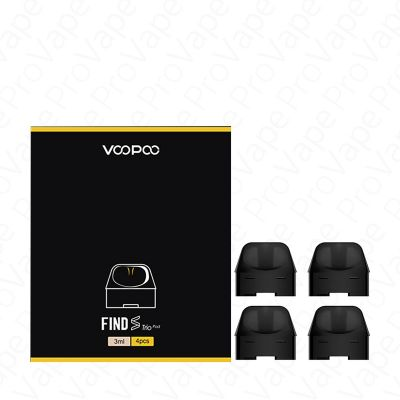 VOOPOO - FIND S TRIO - REPLACEMENT POD - 4PCS-3ml