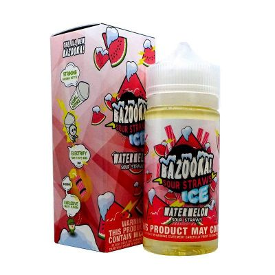 Watermelon on Ice - Ice Series - BAZOOKA! - 100mL-0mg