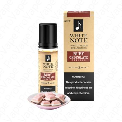 Ruby Chocolate Tobacco White Note 60mL