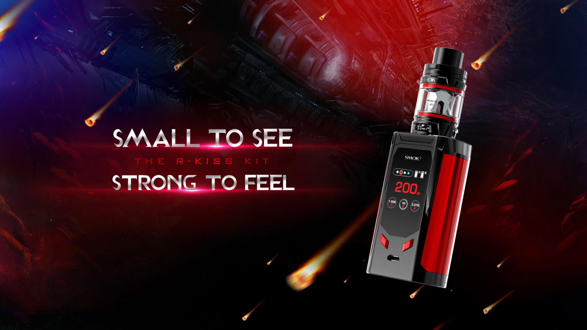 Smok R-Kiss 200W Starter Kit Review