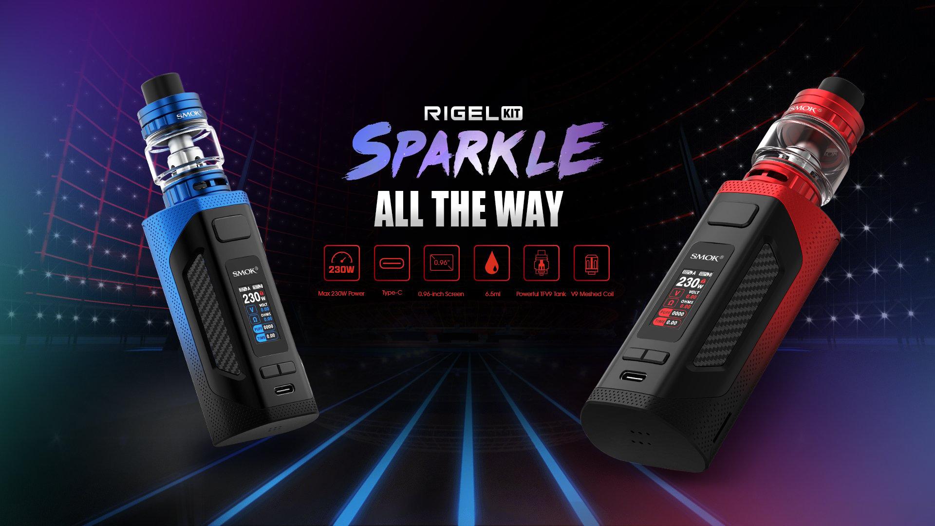 SMOK Rigel 230W Starter Kit Review