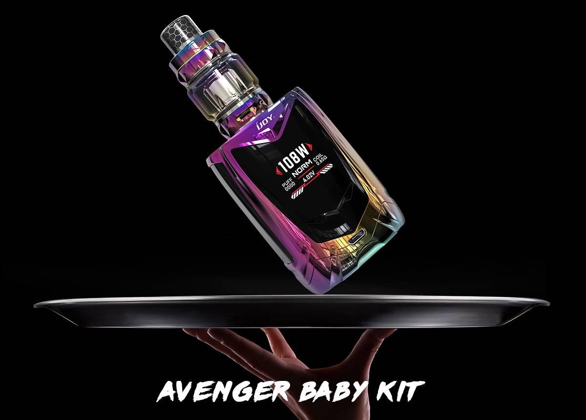 iJoy Avenger Baby 108W Starter Kit Review