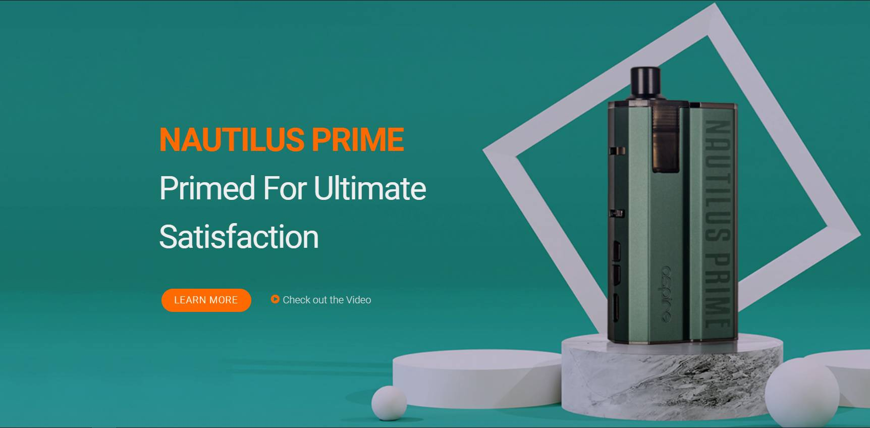 Aspire Nautilus Prime 40w Pod System Kit Review