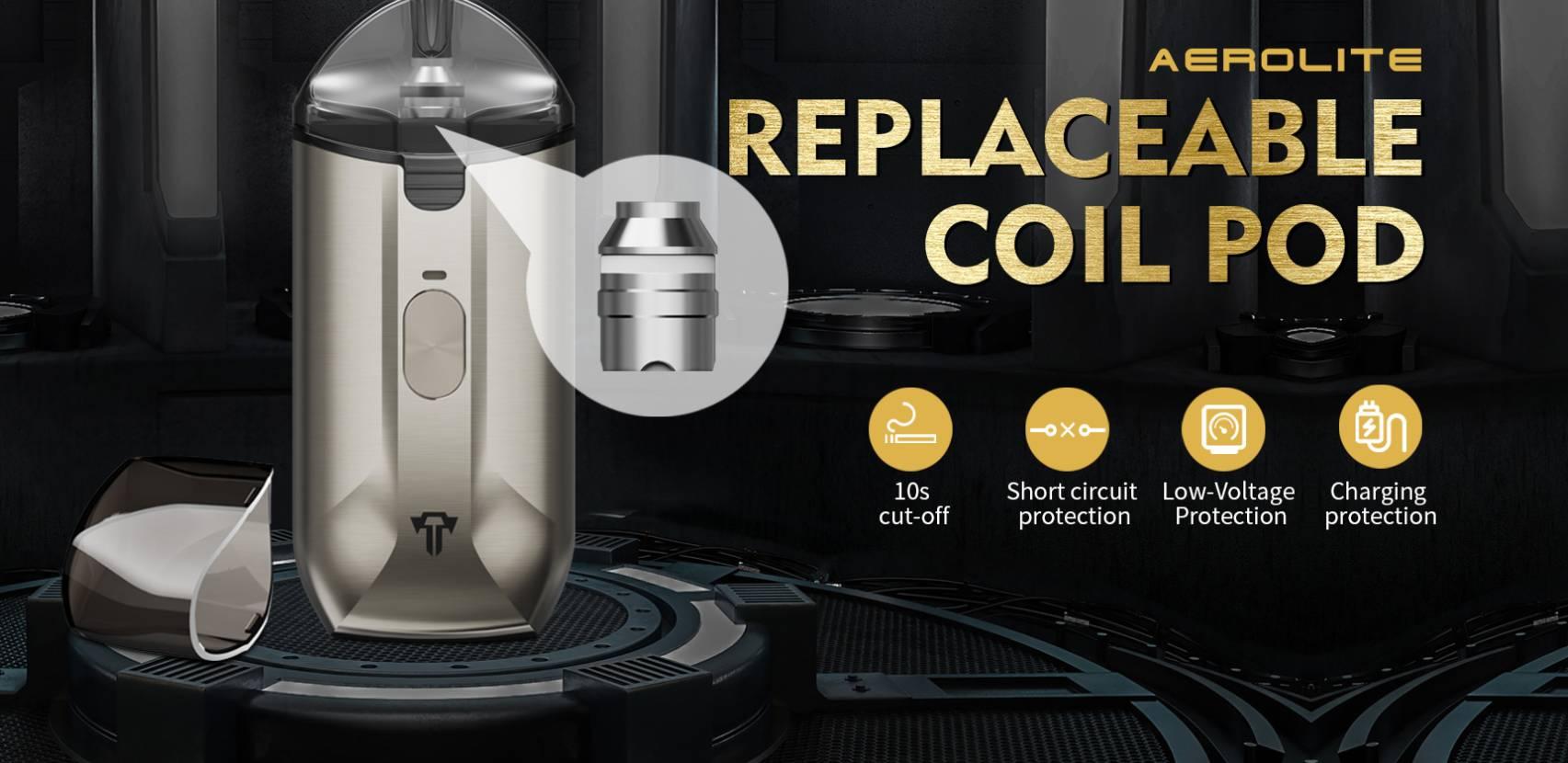 Teslacigs Aerolite 20W Pod System Kit Review