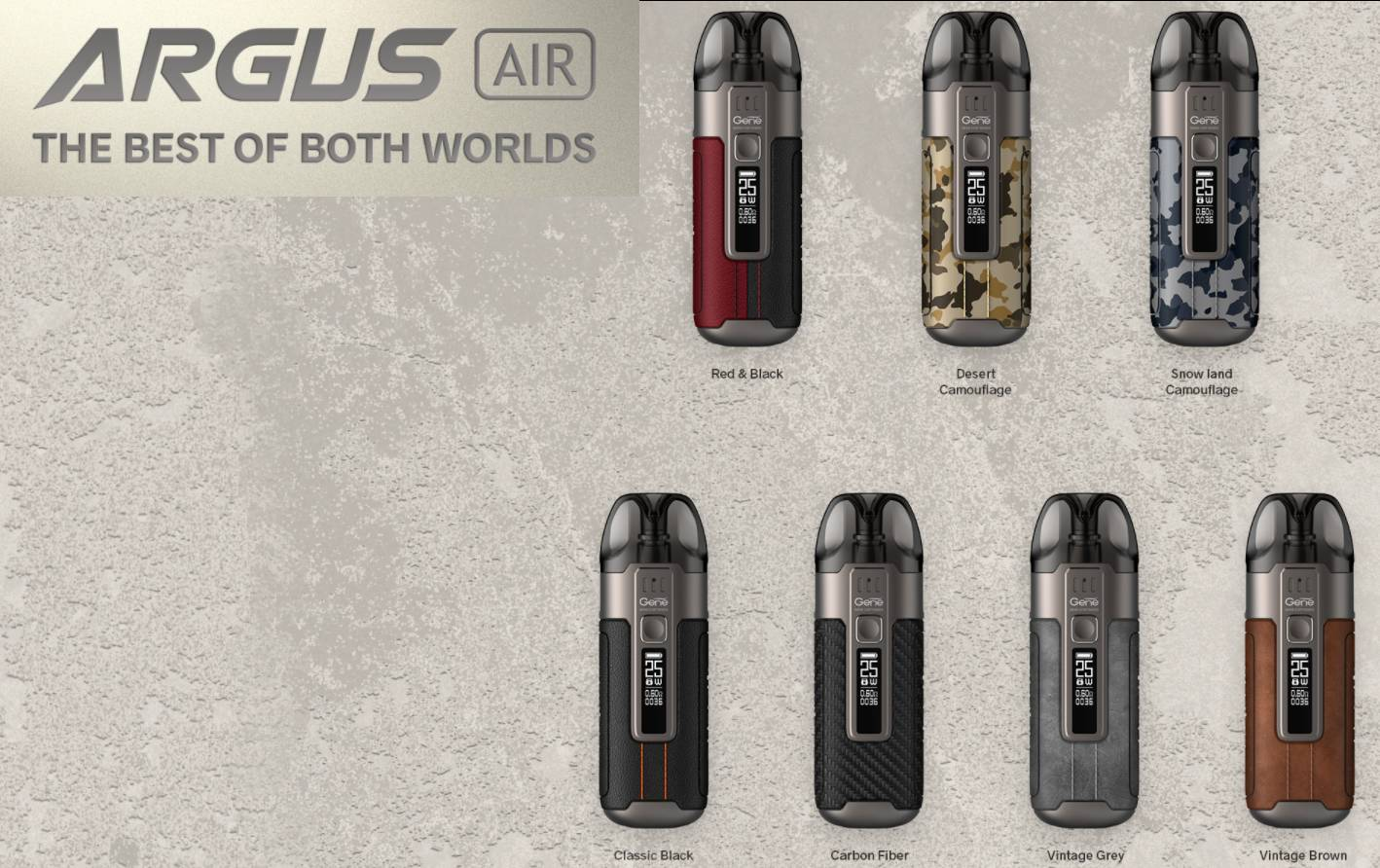 VooPoo ARGUS AIR 25W Pod System Kit Review