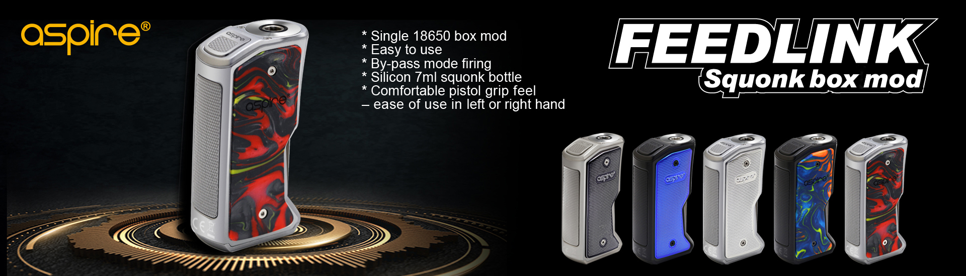 Aspire Feedlink Box Mod Review
