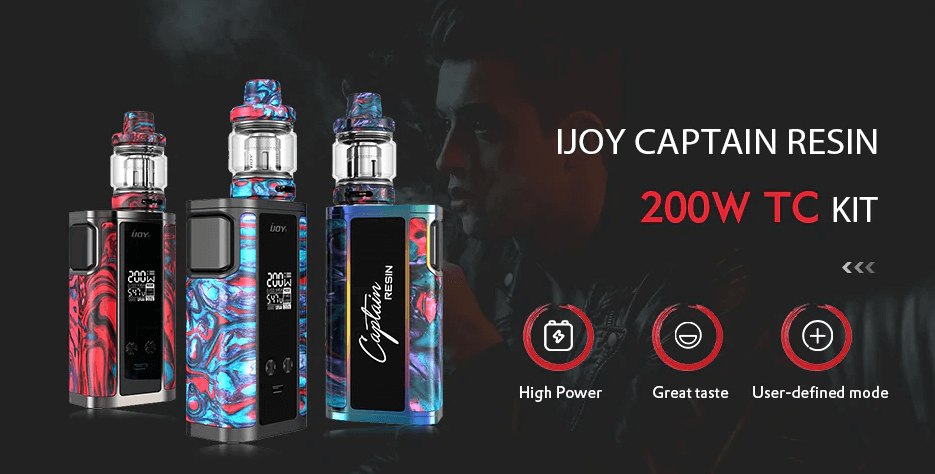 iJoy Captain Resin Kit Review