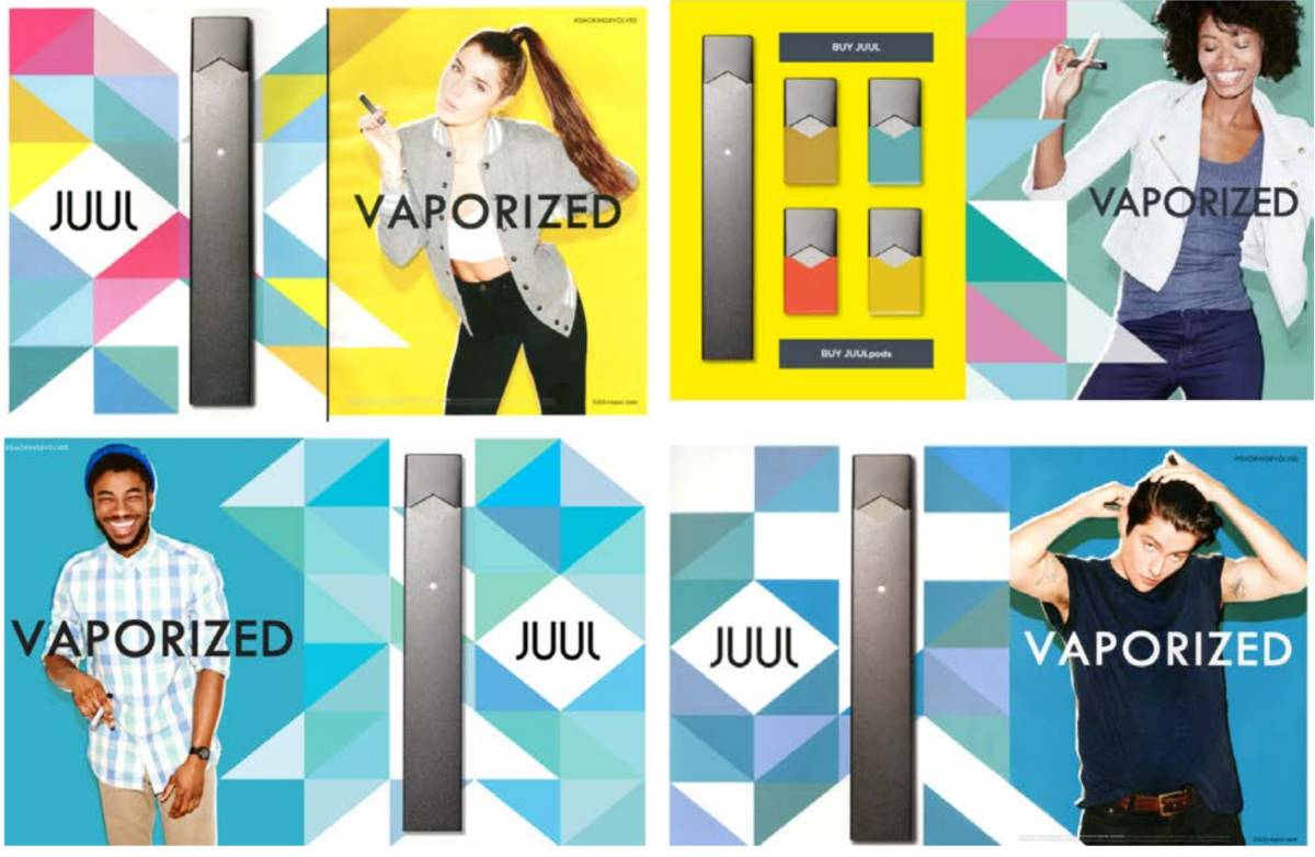 JUUL Ads target teens through Nickelodeon and Cartoon Network