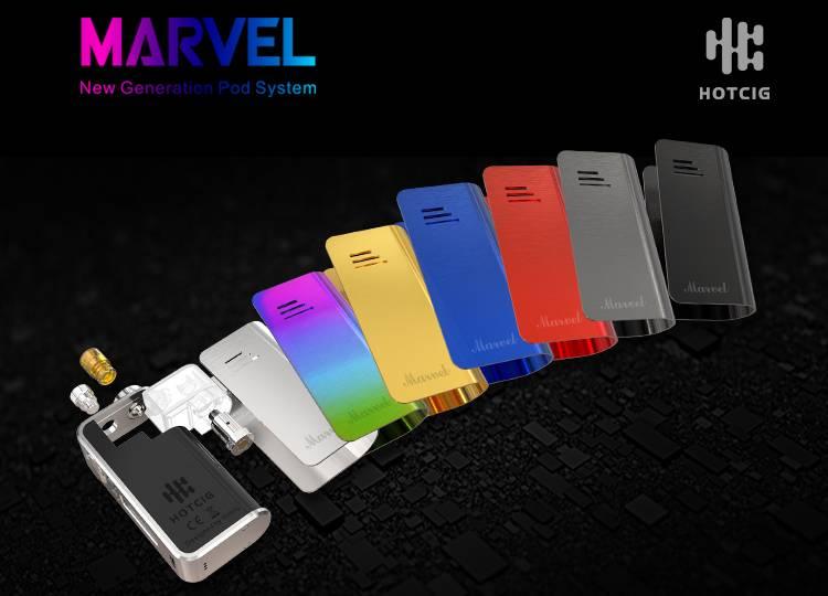 Hotcig Marvel 30W Pod System Kit Review