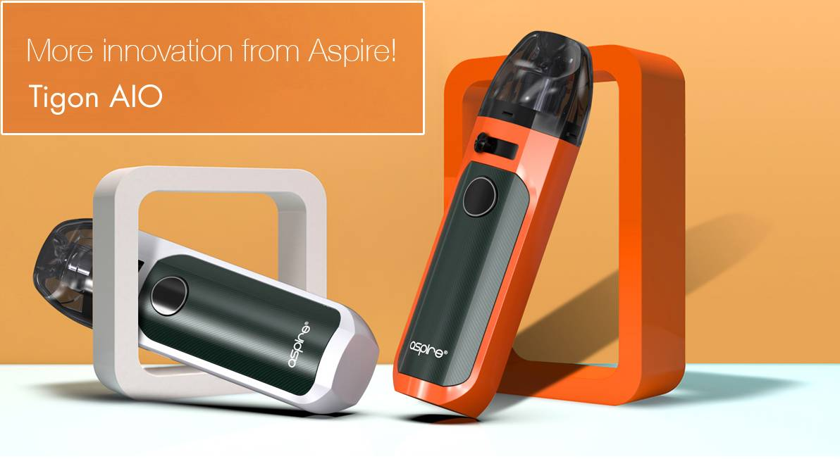 Aspire Tigon AIO Pod System Kit Review
