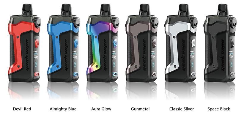 Geek Vape Aegis Boost 40W Pod Mod Colors